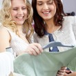 Stock Photo: Girls shopping