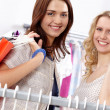 Happy shoppers — Stock Photo #11582813