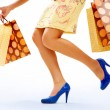 Shopping moment — Stock Photo