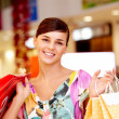 Stock Photo: Pretty shopper