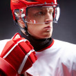 Hockey man — Stock Photo