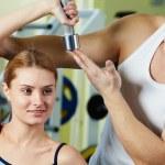 entrenamiento en gimnasio — Foto de Stock