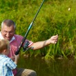 Stock Photo: Fishing