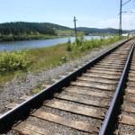 demiryolu — Stok fotoğraf