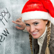 Santa girl — Stock Photo #11583990