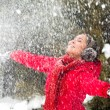 Snow delight — Stock Photo #11584039