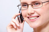 Calling — Stockfoto