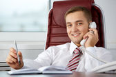Telephone talk — Stock Photo