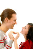 Amorous heart — Stock Photo