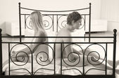 üzgün çift — Stok fotoğraf