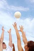 Atrapar pelota — Foto de Stock