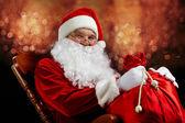 Vánoční kouzelník — Stock fotografie