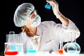 Biochemical investigation — Stock Photo