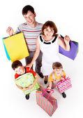 Aile alışveriş — Stok fotoğraf