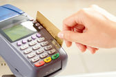 Card payment — Stock Photo