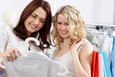 Two shoppers — Stock Photo