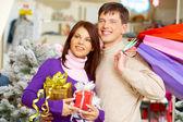 Choosing presents — Stock Photo