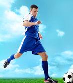 Sportowy facet — Zdjęcie stockowe