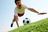 ボールをキャッチ — ストック写真