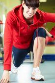Formation en salle de sport — Photo
