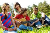Entretenimiento musical — Foto de Stock