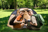 Campers — Stock Photo