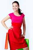 Successful shopping — Stock Photo
