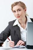 Successful businesswoman — Stock Photo