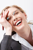 Laughter — Stock Photo