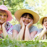 Three women — Stock Photo #11627191