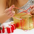 New Year preparations - Stockfoto