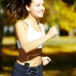 Positive runner — Stock Photo