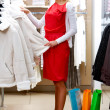 Pleasant shopping — Stock Photo