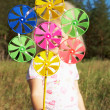 Stock Photo: Pinwheel in hand