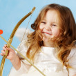 Small Cupid - Stock Photo
