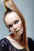 Glamorous female — Stock Photo