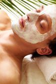Clearing mask — Stock Photo