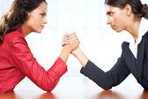 Mujeres en lucha — Foto de Stock