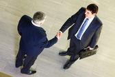 Men handshaking — Stock Photo