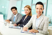 Kantoorpersoneel — Stockfoto