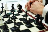 Piezas de ajedrez — Foto de Stock