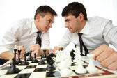 Angry rivals — Stock Photo