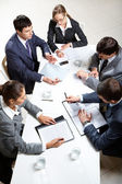 Reunião de negócios — Foto Stock