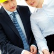 Working architects — Stock Photo