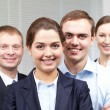 Stock Photo: Corporative businesspeople