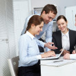 Hard-working team — Stock Photo