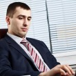 Businessman of handsome presence - Stock Photo