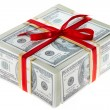 Stock Photo: Money gift