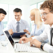 Meeting in office — Stock Photo #11630633