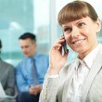 Woman calling — Stock Photo #11631265
